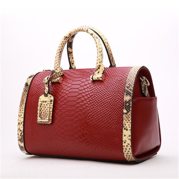 PAVA LEATHER Bags   Boston Shoulder Crossbody Bag Genuine Leather ... 767dc22217